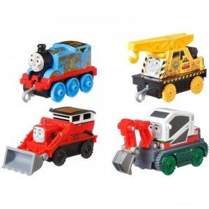 Fisher-Price Thomas & Friends Fall Themed Push Along 4pk Clearance Sale