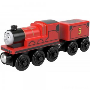 Fisher-Price Thomas & Friends Wood James Engine Clearance Sale