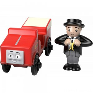 Fisher-Price Thomas & Friends Wood Winston Engine Clearance Sale