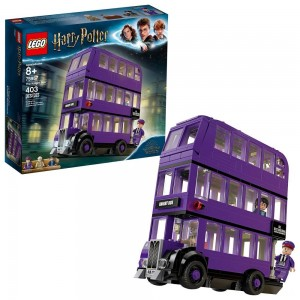 LEGO Harry Potter The Knight Bus 75957 Triple Decker Toy Bus Building Kit 403pc Clearance Sale