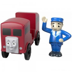 Fisher-Price Thomas & Friends Wood Bertie Engine Clearance Sale