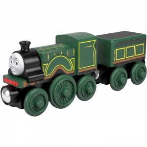 Fisher-Price Thomas & Friends Wood Emily Engine Clearance Sale
