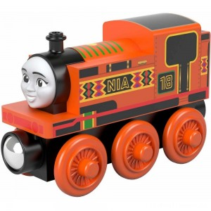 Fisher-Price Thomas & Friends Wood Nia Engine Clearance Sale
