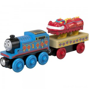 Fisher-Price Thomas & Friends Wood Thomas and the Dragon Clearance Sale
