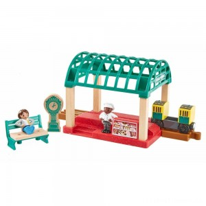 Fisher-Price Thomas & Friends Wood Knapford Train Station Clearance Sale