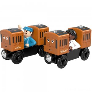 Fisher-Price Thomas & Friends Wood Annie & Clarabel Clearance Sale