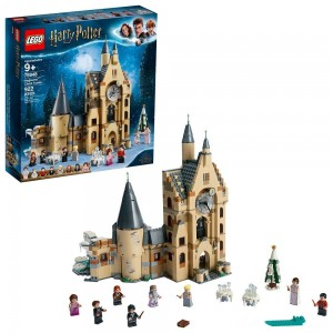 LEGO Harry Potter and The Goblet of Fire Hogwarts Clock Tower Castle Playset with Minifigures 75948 Clearance Sale