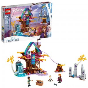 LEGO Disney Princess Frozen 2 Enchanted Treehouse 41164 Toy Treehouse Building Kit for Pretend Play Clearance Sale