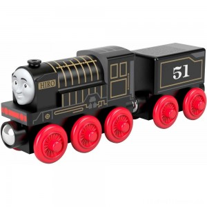 Fisher-Price Thomas & Friends Wood Hiro Engine Clearance Sale