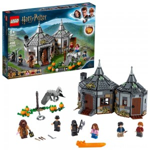 LEGO Harry Potter Hagrid's Hut: Buckbeak's Rescue Building Set with Hippogriff Figure 75947 Clearance Sale