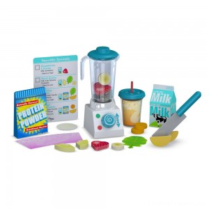 Melissa & Doug 24pc Smoothie Maker Blender Set Clearance Sale
