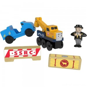 Fisher-Price Thomas & Friends Wood Butch's Road Rescue Clearance Sale