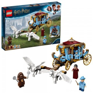 LEGO Harry Potter Beauxbatons' Carriage: Arrival at Hogwarts 75958 Toy Carriage Building Set 430pc Clearance Sale