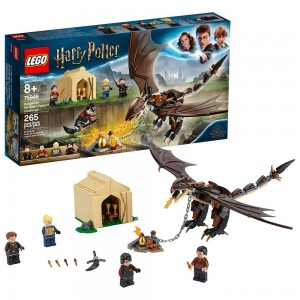 LEGO Harry Potter Hungarian Horntail Triwizard Challenge 75946 Toy Dragon Building Kit 265pc Clearance Sale