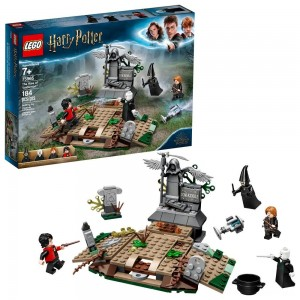 LEGO Harry Potter The Rise of Voldemort 75965 Wizard Minifigure Battle Action Building Set 184pc Clearance Sale