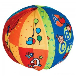 Melissa & Doug K's Kids 2-in-1 Talking Ball Educational Toy - ABCs and Counting 1-10 Clearance Sale
