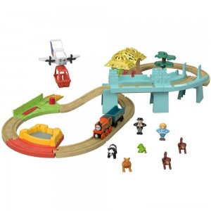 Fisher-Price Thomas & Friends Wood Big World Adventure Set Clearance Sale