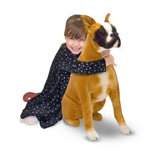 Melissa & Doug Giant Boxer - Lifelike Stuffed Animal Dog Clearance Sale