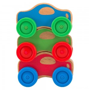 Melissa & Doug Stacking Cars Wooden Baby Toy Clearance Sale
