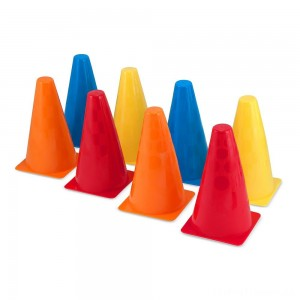 Melissa & Doug 8 Activity Cones - Set of 8 Clearance Sale