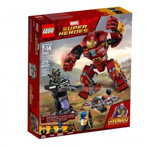LEGO Super Heroes Marvel Avengers Movie The Hulkbuster Smash-Up 76104 Clearance Sale
