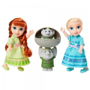 Disney Frozen 2 Petite Surprise Trolls Gift Set Clearance Sale