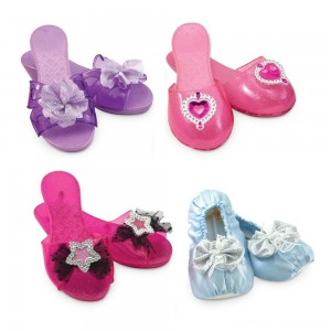 Melissa & Doug Role Play Collection - Step In Style! Dress-Up Shoes Set (4 Pairs) Clearance Sale