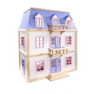Melissa & Doug Multi-Level Dollhouse Clearance Sale