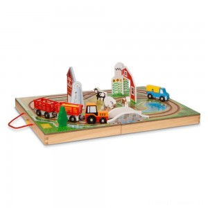 Melissa & Doug Take Along Farm Set Clearance Sale