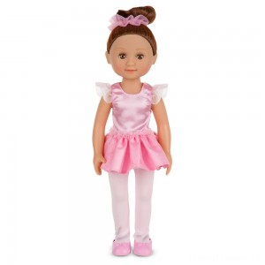 Melissa & Doug Victoria 14-Inch Poseable Ballerina Doll With Leotard and Tutu Clearance Sale