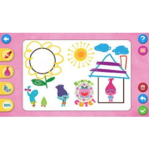 DreamWorks Trolls Learning Game Ages 4-7 yrs. Clearance Sale