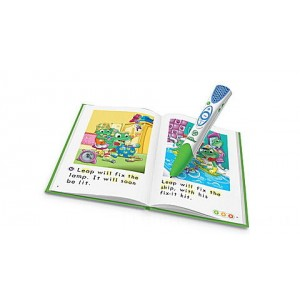 LeapReader® System and 5 Book Learn-to-Read Set Ages 4-8 yrs. Clearance Sale