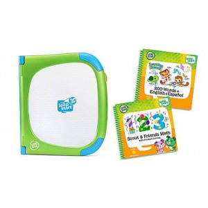 LeapStart® 3D System & 2 Book Combo Pack: Learning Friends and Scout & Friends Math Ages 2-7 yrs. Clearance Sale