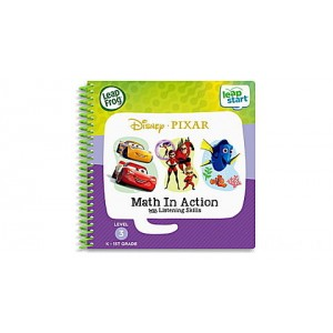 LeapStart® 2 Book Combo Pack: Math in Action and Toys Save the Day Ages 3-6 yrs. Clearance Sale