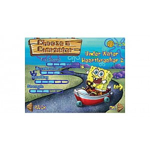 SpongeBob SquarePants: The Clam Prix Ages 4-7 yrs. Clearance Sale