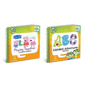 LeapStart® 2 Book Combo Pack: Playing Together and Alphabet Adventures Ages 2-5 yrs. Clearance Sale