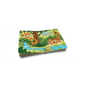 LeapReader™ Junior Book: Animals Around the World Ages 1-3 yrs. Clearance Sale