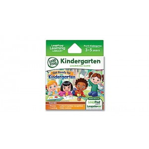 LeapPad® Game Cartridge 2-Pack Get Ready for Kindergarten & Preschool Adventures Ages 3-5 yrs. Clearance Sale