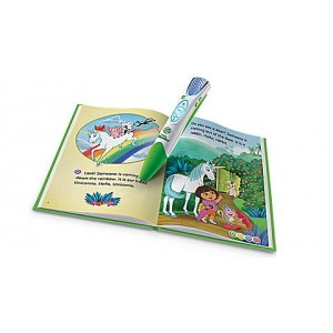 LeapReader™ Book: Dora the Explorer: Tale of the Unicorn King Ages 4-6 yrs. Clearance Sale