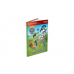 LeapReader™ Book: PAW Patrol: The Great Robot Rescue Ages 4-5 yrs. Clearance Sale