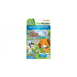 LeapReader™ Book: Pet Pals Sticker Story Time Ages 4-8 yrs. Clearance Sale