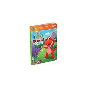 LeapReader™ Junior 1,2,3 Roar Counting Book Ages 1-3 yrs. Clearance Sale