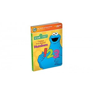 LeapReader™ Junior Book: Cookie Monster's First Book of Numbers Ages 2-3 yrs. Clearance Sale