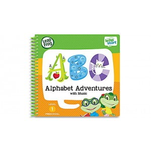 LeapStart® Alphabet Adventures with Music 30+ Page Activity Book Ages 2-4 yrs. Clearance Sale