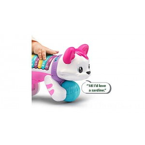 Count & Crawl Number Kitty - Online Exclusive Pink Ages 9-24 months Clearance Sale