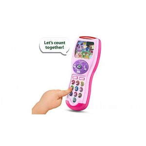 Violet's Learning Lights Remote - Online Exclusive Pink Ages 6-36 months Clearance Sale