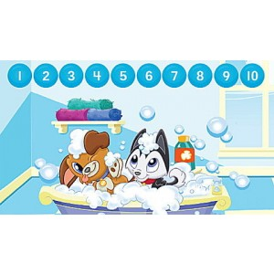 LeapStart® Pet Pal Puppies Math with Social Emotional Skills 30+ Page Activity Book Ages 3-5 yrs. Clearance Sale