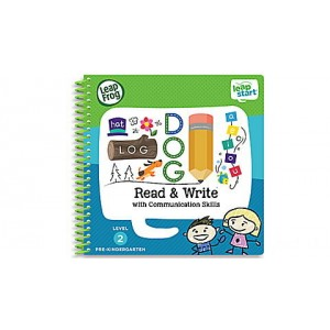 LeapStart® Read & Write with Communication Skills 30+ Page Activity Book Ages 3-5 yrs. Clearance Sale