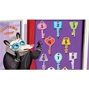 LeapStart® Spy Math with Critical Thinking 30+ Page Activity Book Ages 5-7 yrs. Clearance Sale
