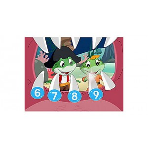 Numbers Ahoy DVD Ages 2-5 yrs. Clearance Sale